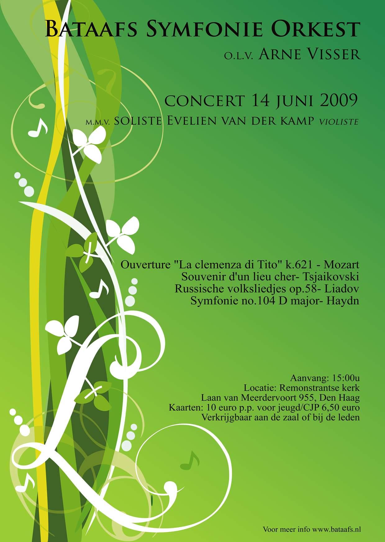 poster concert 2009.1
